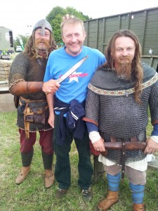 GJ with vikings