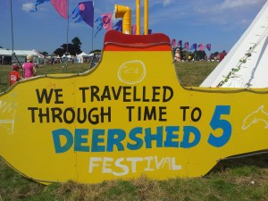 we travelled thriough time to deershed